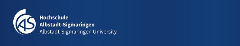 W2-Professur - HS Albstadt-Sigmaringen - Logo