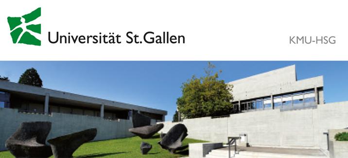 Wissenschaftlich-r Mitarbeiter(Doktorand) (m/w/d) - Universität St. Gallen - Logo