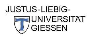 PhD memberships - Justus-Liebig-Universität Gießen - Logo