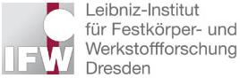 Post-Doc Stelle (m/w/d) - Leibniz-Institut für Festkörper- und Werkstoffforschung (IFW) - Logo