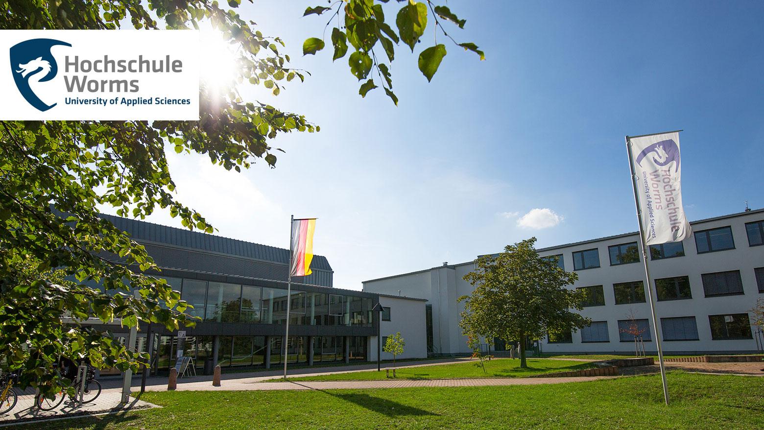 Professur (W2 - Hochschule Worms - Logo