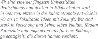 Direktor des Science Support Centers (m/w/d) - Uni Duisburg-Essen - logo