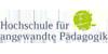 Professur für Pädagogik (Frühkindliche Bildung und Inklusion und allgemein Pädagogik) - Hochschule für angewandte Pädagogik - Logo