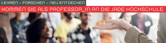Professur - Jade Hochschule - Header
