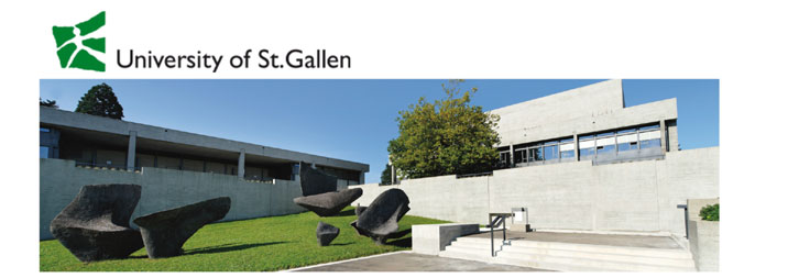 Associate or Assistant Professorship - Universität St. Gallen - Logo