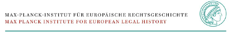 Doctoral Student (f/m/d) - Max Planck Institute for European Legal History - Logo