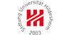 Junior Professorship (W 1) Digital Humanities with Tenure Track (W 2) - Stiftung Universität Hildesheim - Logo