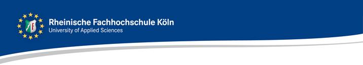 Professur - Rheinische FH Köln - Logo