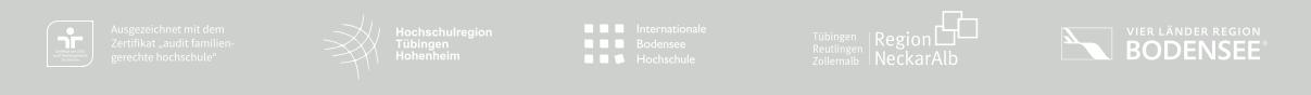 W2-Professur - HS Albstadt-Sigmaringen - footer