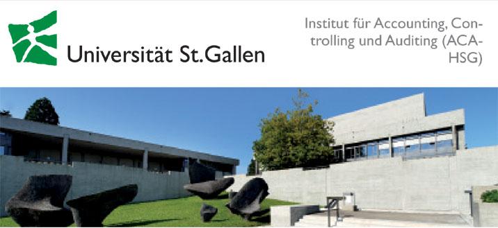 Wissenschaftlichr Mitarbeiter(Doktorand) (m/w/d) - Universität St. Gallen - Logo