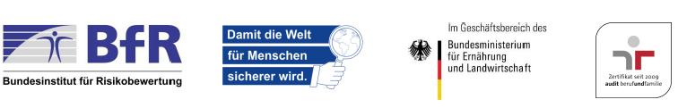 Wissenschaftliche/r Mitarbeiterin / Mitarbeiter (w/m/d) - BfR - Footer