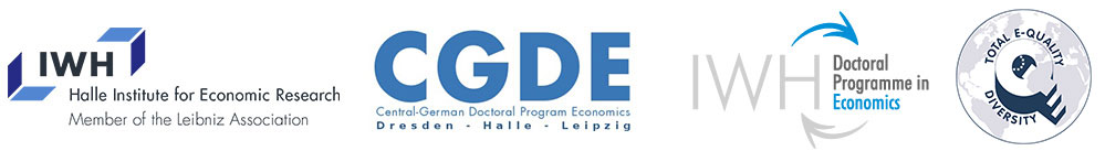 Doctoral Programme in Economics (IWH-DPE) - IWH Halle - Logo