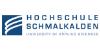 Professur (W2) für Elektrotechnik - Hochschule Schmalkalden - Logo