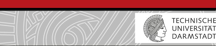 Professorship (W3) - TU Darmstadt - Logo