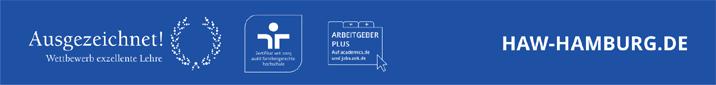 Professur  - HAW Hamburg - Footer