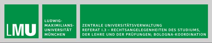 Jurist (m/w/d)  - LMU - Logo