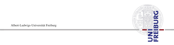 Tenure-Track Professorship (W1) for Jewish Studies - Albert-Ludwigs-Universität Freiburg - Logo