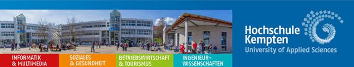 wissenschaftliche/n Mitarbeiter/in (m/w/d) - Hochschule Kempten - Logo