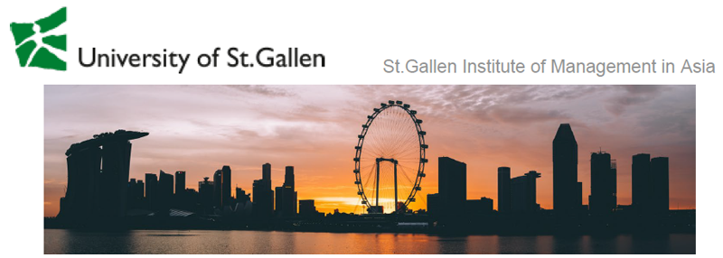 General Manager - Universität St. Gallen - Logo