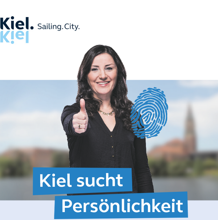 Abteilungsleitung - Stadt Kiel - Logo