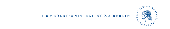 Visiting Professorship - Humboldt-Universität zu Berlin - Logo