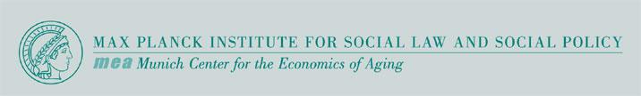 Empirical Economist as a Researcher - Max-Planck-Institut für Sozialrecht und Sozialpolitik - Logo