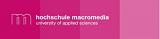 Professur Medien- und Kommunikationsmanagement mit Schwerpunkt Medienökonomie - Hochschule Macromedia - Logo