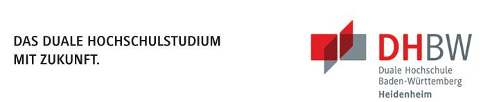 Wissenschaftlicher Mitarbeiter (m/w/d) - DHBW Heidenheim - Logo