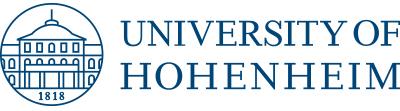 Full Professor (W3)- Universität Hohenheim - Logo