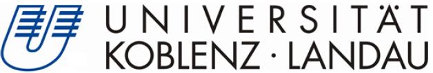 Projektmitarbeiter/in (m/w/d) - Uni Koblenz - Logo