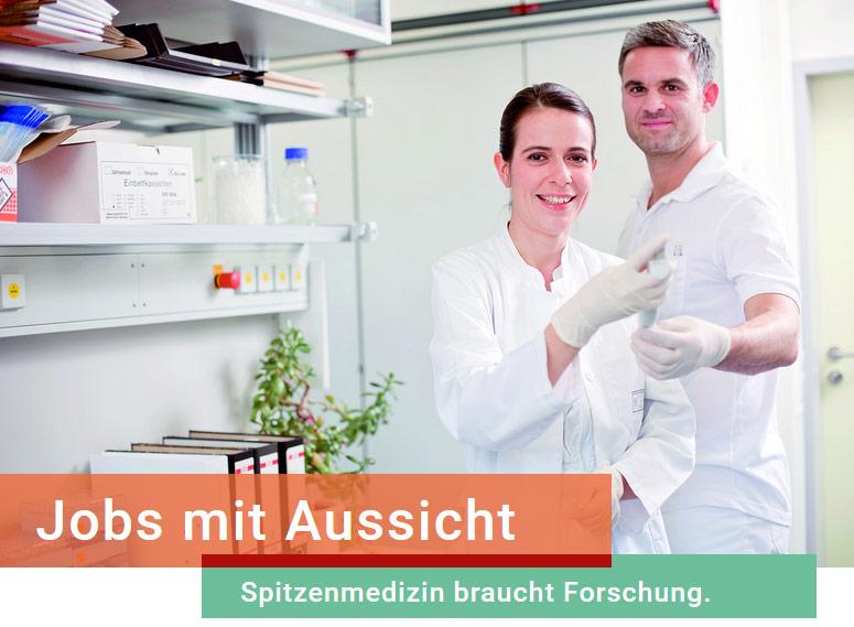 Wissenschaftlicher Mitarbeiter (w/m/d) - Uniklinik Dresden - Header