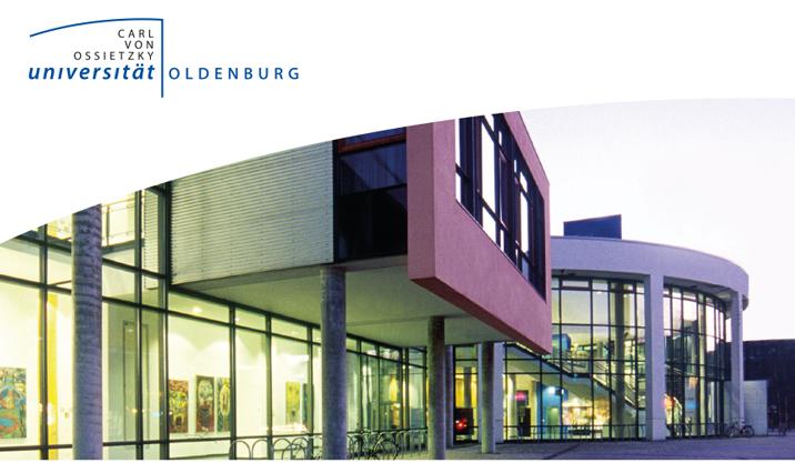 Professur (W3) - Carl von Ossietzky Universität Oldenburg - Logo