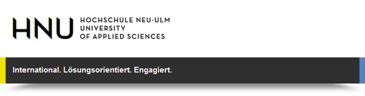 Wissenschaftlicher Mitarbeiter (m/w/d) - Hochschule Neu-Ulm - logo
