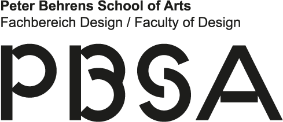 Professur (W2) Gestaltung von Objekt und Produkt - Hochschule Düsseldorf - Logo pbsa