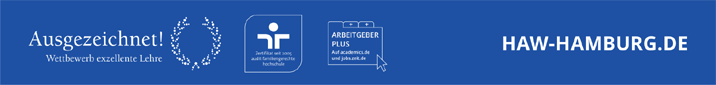 Referent (m/w/d) - HAW Hamburg - Footer