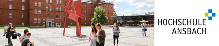 Wissenschaftlicher Mitarbeiter als Gründerlotse (m/w/d) - Hochschule für angewandte Wissenschaften Ansbach - Logo