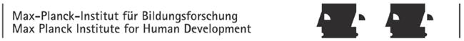 Direktionssekretär (m/w/d) - MPIB - Logo