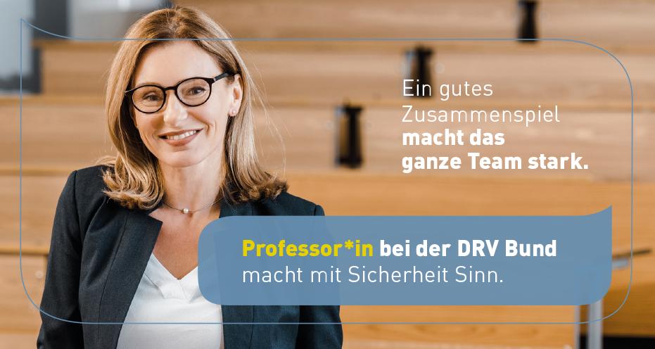 Professor*in für Rechtswissenschaften (m/w/div) - DRV Bund - Head