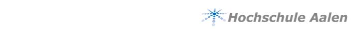 Professur - Hochschule Aalen für Technik und Wirtschaft - Logo