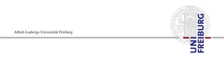 Tenure-Track Professorship for Pure Mathematics, specifically Analysis (W1) - Albert-Ludwigs-Universität Freiburg - Logo