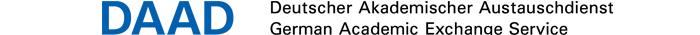 Helmut Schmidt Distinguished Professorship - DAAD Deutscher Akademischer Austauschdienst e.V. - Logo
