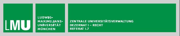 Volljuristin/Volljurist (m/w/d)  - LMU - Logo
