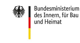 Bundesministeriums des Innern, für Bau und Heimat - logo