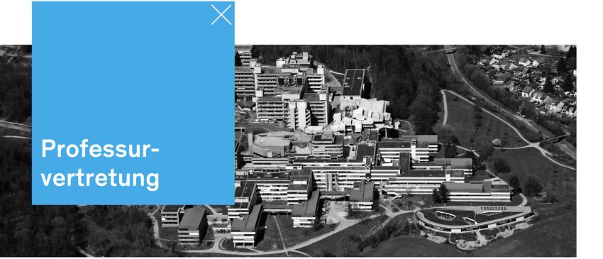 Professurvertretung - Universität Konstanz - Headerbild