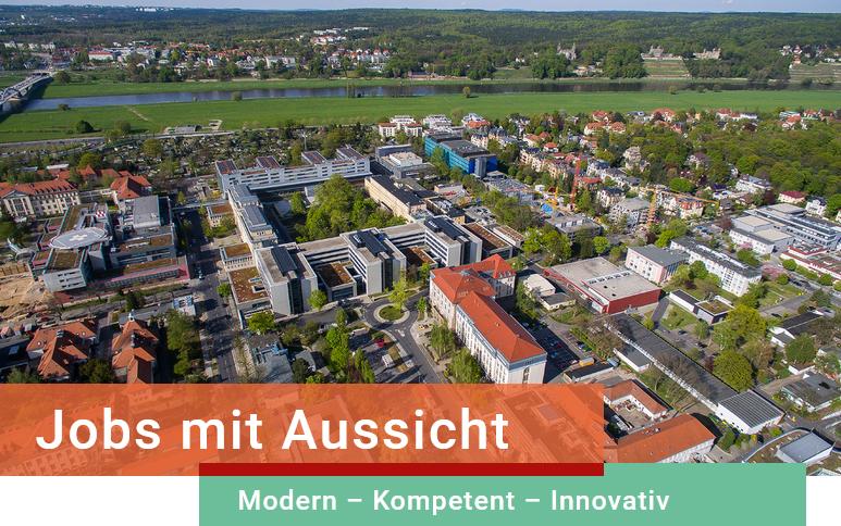 Leitung Nachwuchsforschergruppe (w/m/d) - Uniklinik Dresden - Header