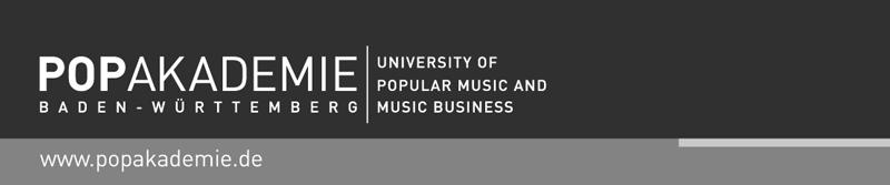 Projektmanager (w/m/d) - Popakademie - logo
