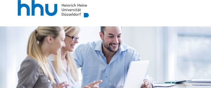 Research Associate (m/f/d) - Heinrich-Heine-Universität Düsseldorf - Logo
