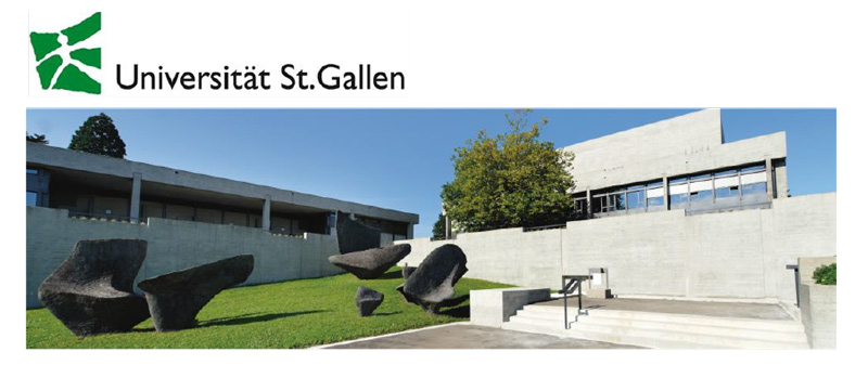 Professur - Universität St. Gallen - Logo
