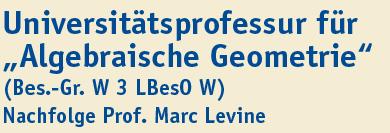 Professur (W2) - Uni Duisburg-Essen - logo