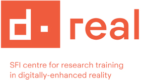 Doctoral Programme in Digitally-Enhanced Reality tiD-REAL) - d-real - Logo